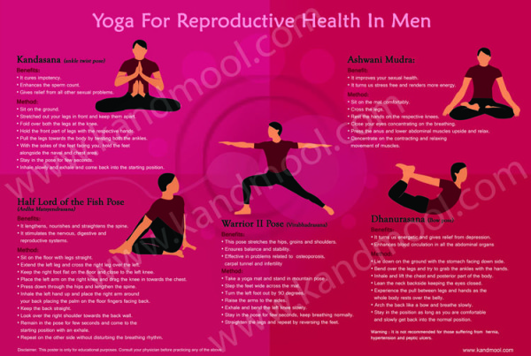 Yoga For Reproductive Health In Men