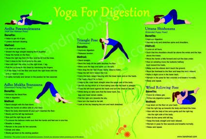 yoga for digestion  kandmool